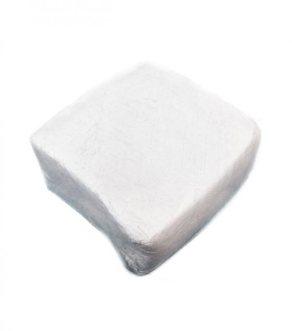 IT12 fehér préselt gomb és czipzár mentes ipari géprongy
